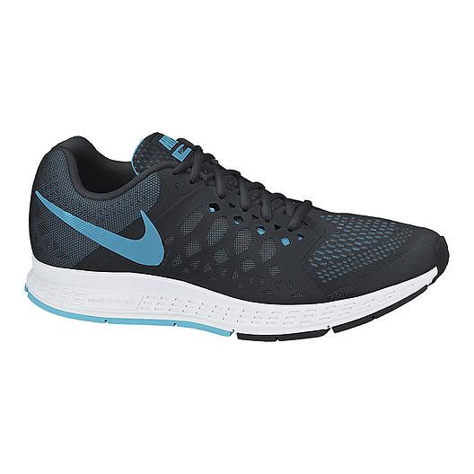 Nike Men's Zoom Pegasus 31 Running Shoes BlackBlueWhite