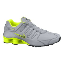 Nike Men's Shox NZ Shoes - Grey/volt