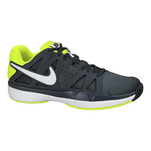 360d6f4a5b176 Nike Men's Air Vapor Advantage Tennis Shoes - Dark Grey/White/Volt Green |  Sport Chek
