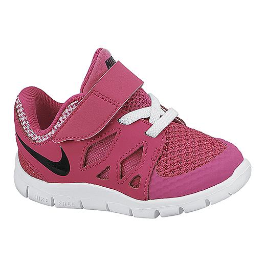 b945912bbc42 ... hot nike toddler girls free 5.0 athletic shoes pink black white 3a1ea  85379