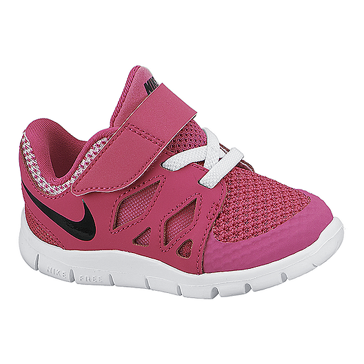 new styles 91670 ba6a0 Nike Toddler Girls Free 5.0 Athletic Shoes - Pink Black White   Sport Chek