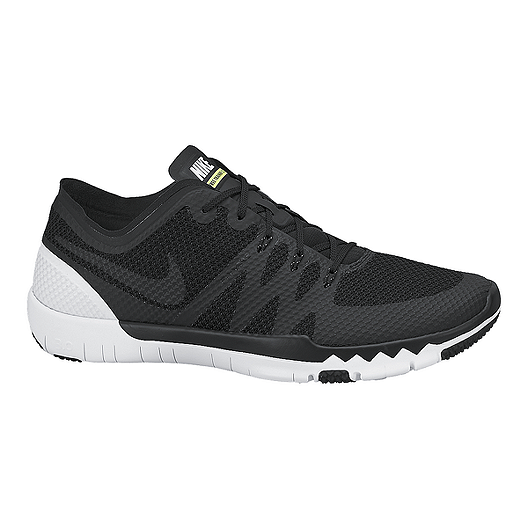 4c0723a63be55 Nike Men s Free Trainer 3.0 V3 Training Shoes - Black White