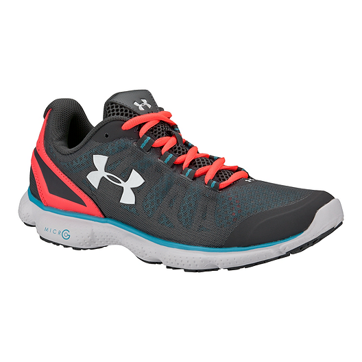 wholesale dealer 1d87f 76fb4 Under Armour Women s Micro G Attack Running Shoes - Dark Grey Blue Orange    Sport Chek