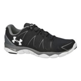 Under Armour Men's Micro G Engage 2 Running Shoes - Black/Grey