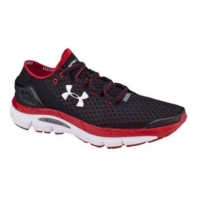 Under Armour Men's SpeedForm Gemini Running Shoes - Black/Red/White