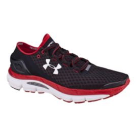 Under Armour Men's SpeedForm Gemini Running Shoes - Black/Red/White