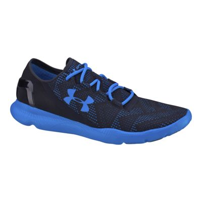Under Armour Men's SpeedForm Apollo Vent Running Shoes - Black/Blue