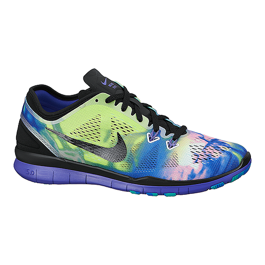 d3b55666897 Nike Free 5.0 TR Fit 5 Print Women s Training Shoes