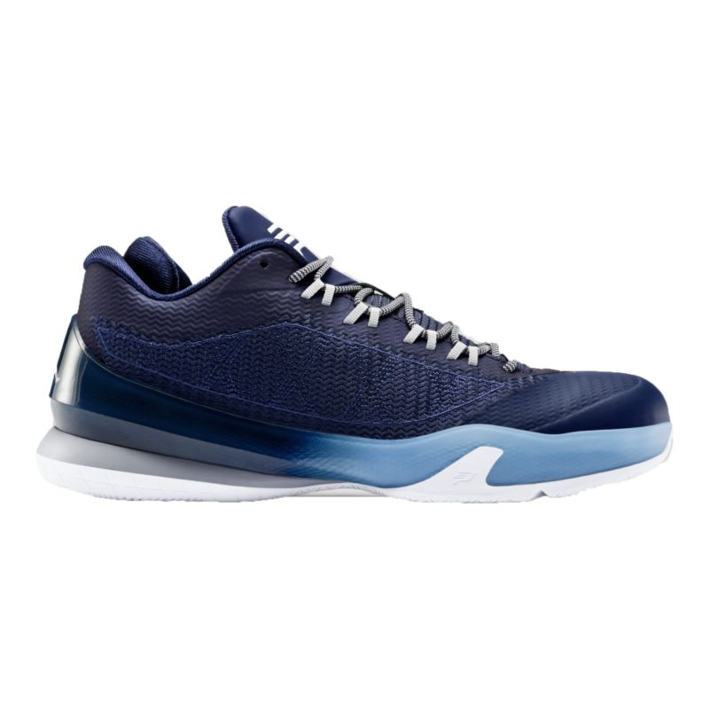 nike s cp3 viii basketball shoes navy blue