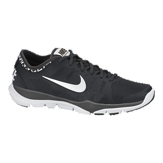 Analista Arco iris Relativamente  Nike Women's Flex Supreme TR 3 Training Shoes - Black/White | Sport Chek
