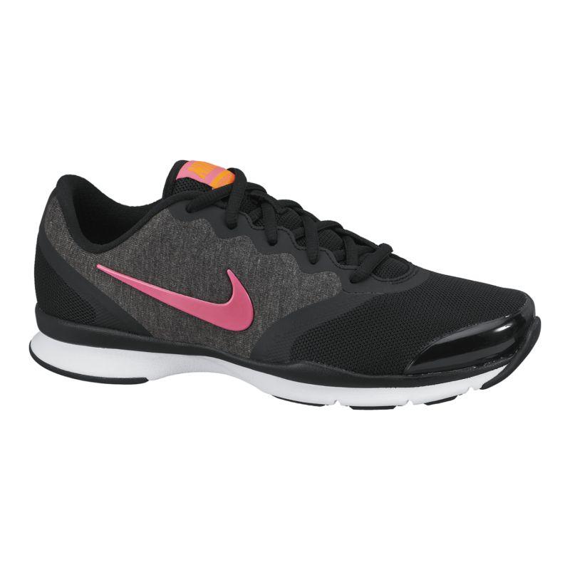 nike s in season tr 4 shoes black pink
