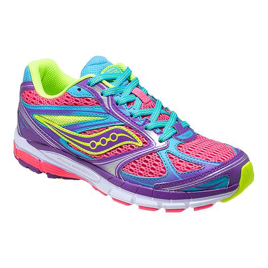 99ff17f62f43 Saucony Guide 8 Girls  Grade-School Running Shoes
