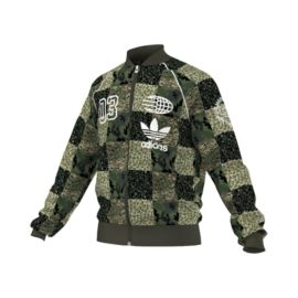 adidas Originals Checker Camo Men's Track Jacket