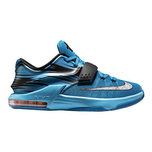 f9e29f595465 Nike KD 7 Away Grade-School Kids  Basketball Shoes