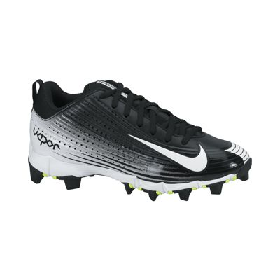 Nike Kids' Vapor Keystone 2 Low-Cut Baseball Cleats - Black/White