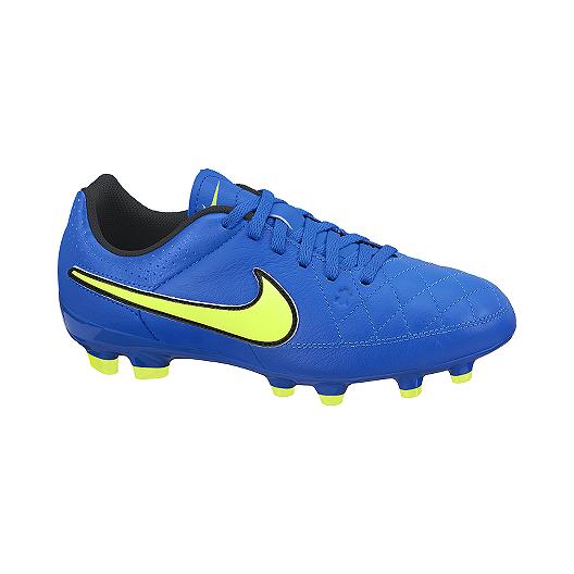 huge selection of 4b188 88f9e Nike Tiempo Genio Leather FG Kids' Grade School Outdoor Soccer Cleats |  Sport Chek
