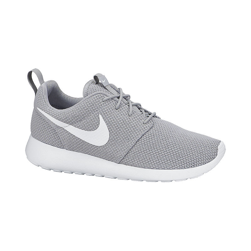 3e8079e029f Nike Men s Roshe One Casual Shoes - Grey White