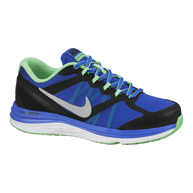 697cc0b93c0 Nike Dual Fusion Run 3 Grade-School Kids  Running Shoes