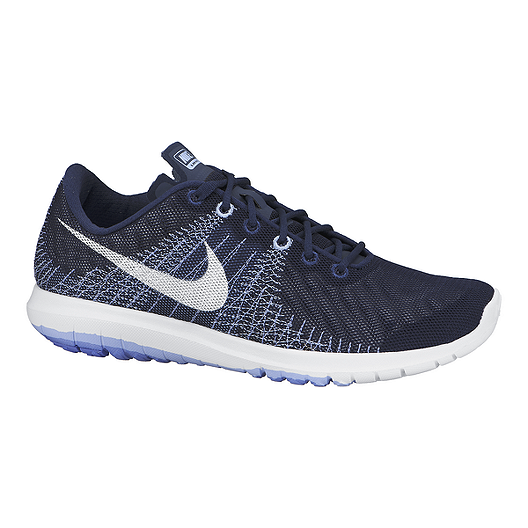 new product e916f 75204 Nike Women's Flex Fury Running Shoes - Blue/White | Sport Chek