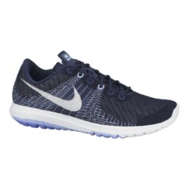 Nike Women s Flex Fury Running Shoes - Blue White  a049275944
