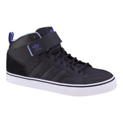 adidas varial 2 metà uomini pattinare le scarpe nere sport chek