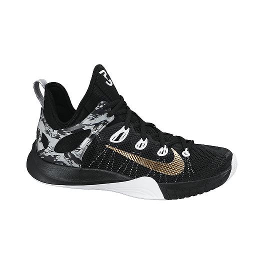 reputable site c2760 7fce3 Nike Men s Zoom HyperRev 2015 Basketball Shoes - Black White Gold   Sport  Chek