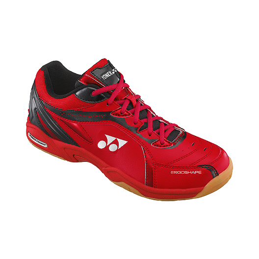 1afd03a8d405f Yonex Men s SHB-74EX Indoor Court Shoes - Red Black White