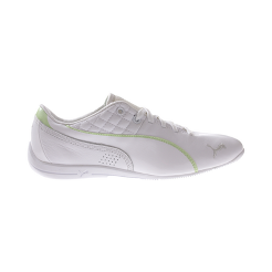 PUMA Women s Drift Cat 6 Shoes - White Lime Green  11f9b16c90