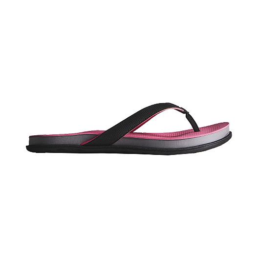 13c8199d1c16d5 adidas Women s SuperCloud Plus Thong Sandals - Black Pink
