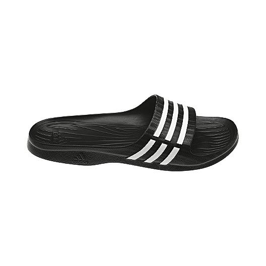 1ee9ef1ee adidas Women s Duramo Sleek Sandals - Black White