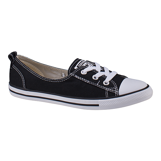 Converse Women's Chuck Taylor Ballet Lace Ox Shoes Black