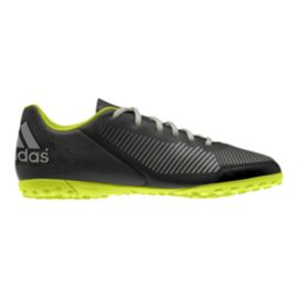 adidas Men's FF Tableiro Turf Indoor Soccer Shoes - Black/Lime Green