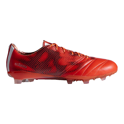 fbc4c8be1711 adidas Men s F50 Adizero FG Leather Outdoor Soccer Cleats - Red White