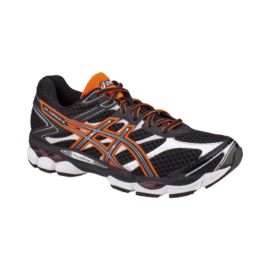 ASICS Men's Gel Cumulus 16 Running Shoes - Black/Orange