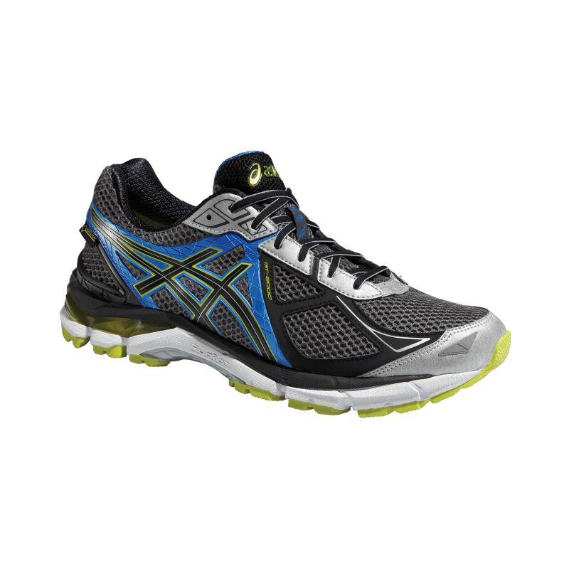 asics s gt 2000 3 gtx running shoes black blue