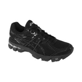 ASICS Men's GT 1000 3 2E Wide Width Running Shoes - Black