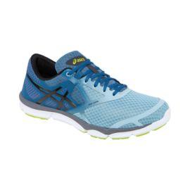 asics s 33 dfa running shoes blue fade black grey