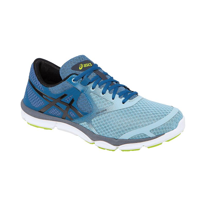 dc93b913d1b37 ASICS Men's 33 DFA Running Shoes - Blue Fade/Black/Grey | Sport Chek