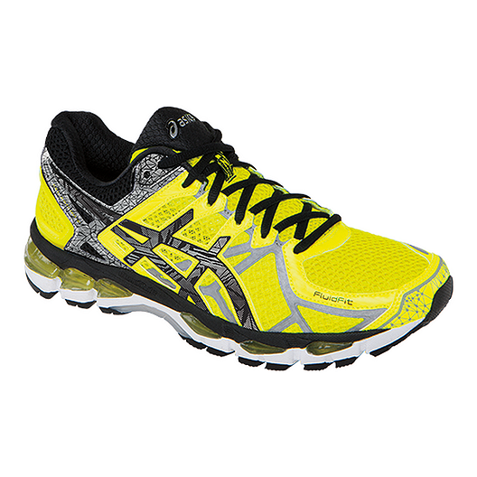 official photos 7639f 5712f ASICS Men s Gel Kayano 21 Lite-Show Running Shoes - Yellow Black Silver    Sport Chek