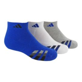 adidas Cushioned Kids' Low Cut Socks-3-Pack