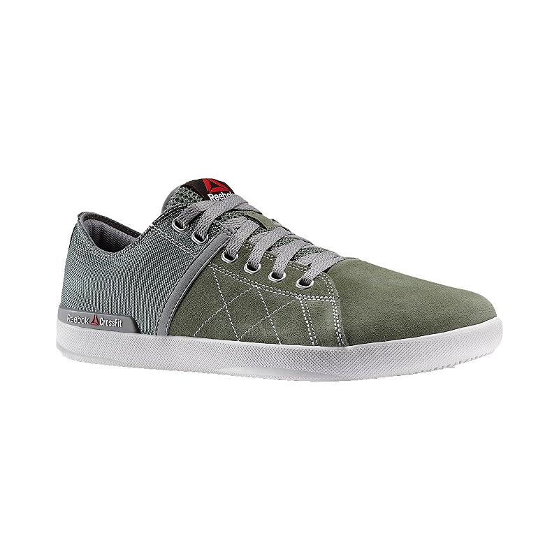 3594767d5ce8 Reebok Men s CrossFit Lite Low Training Shoes - Olive Green Grey ...