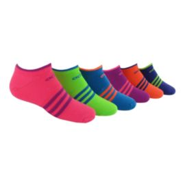 adidas Superlite No Show 6 Pack Girls' Sock
