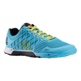Reebok Women's CrossFit Nano 4.0 Training Shoes - Blue/Yellow