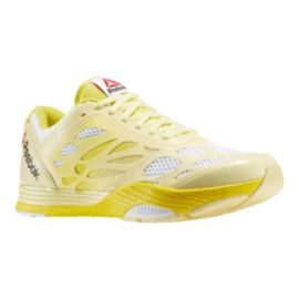 Reebok Women's Cardio Ultra Training Shoes - White/Yellow