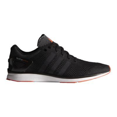 Adidas uomini piuma adizero primo scarpe da corsa nero / grigio / orange