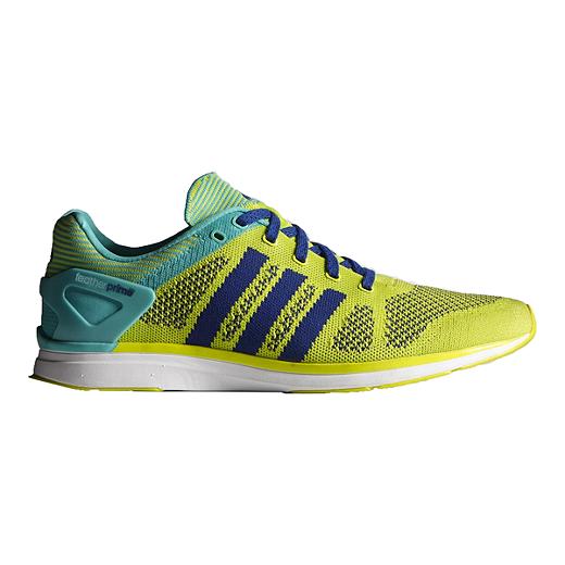 temperamentssko køb populære 100% ægte adidas Men's Adizero Feather Prime Running Shoes - Yellow/Green