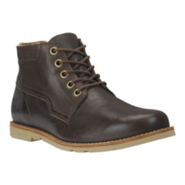 Timberland Men's EarthKeepers Rugged Leather Casual Boots - Dark Brown