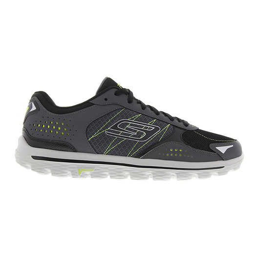262636a5094e Skechers Men sGo Walk 2 Flash Walking Shoes - Grey Black Green ...