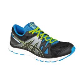 ASICS Men's Gel Unifire TR Training Shoes - Black/Blue/Lime Green
