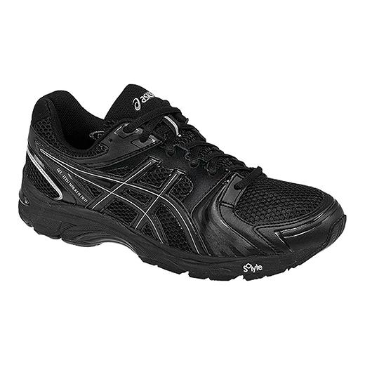 ASICS Men's Gel Tech Walker Neo 4 Walking Shoes  Black/Silver